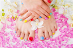 Сlipart spring spa soft hands tropical photo  BillionPhotos
