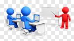 Сlipart Training Teaching Internet Learning Technology 3d cut out BillionPhotos