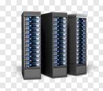Сlipart Network Server Internet Data Computer Network Computer Part 3d cut out BillionPhotos