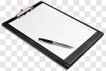 Сlipart Clipboard Pen Paper Note Pad Checklist photo cut out BillionPhotos