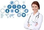 Сlipart medical touch doctor ekg test network   BillionPhotos