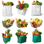 Сlipart Groceries Shopping Bag Shopping Environmental Conservation Green   BillionPhotos