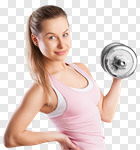 Сlipart fit fitness training woman gym photo cut out BillionPhotos