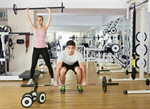 Сlipart trainer personal training gym woman photo  BillionPhotos