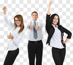 Сlipart Business Success Office Cheerful Women photo cut out BillionPhotos