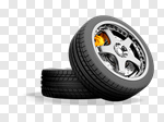 Сlipart Tire Car Wheel Isolated New 3d cut out BillionPhotos