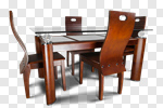 Сlipart Dining Room Dining Table Furniture Dining Domestic Room photo cut out BillionPhotos