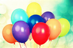 Сlipart Balloons Child Party Isolated Bunch   BillionPhotos