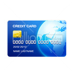 Сlipart credit card card bank card Interbank Network Plastic Card vector icon cut out BillionPhotos