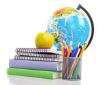 Сlipart school back pencil notebook pen photo  BillionPhotos