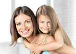 Сlipart mother child hugging daughter home   BillionPhotos