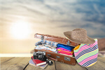Сlipart travel traveler pack open sunscreen   BillionPhotos