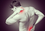 Сlipart A boy felt back pain pain painful painfulness man   BillionPhotos