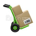 Сlipart Box Cardboard Box Shipping Box Package Cardboard vector icon cut out BillionPhotos