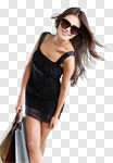 Сlipart fashion model street summer smiling photo cut out BillionPhotos