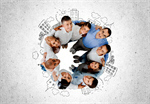 Сlipart Group Of People Multi-Ethnic Group Happiness Community Human Face   BillionPhotos
