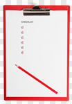 Сlipart Checklist Clipboard Questionnaire Red Test Results photo cut out BillionPhotos