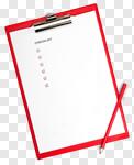 Сlipart Checklist Clipboard Report Advice List photo cut out BillionPhotos