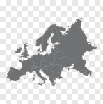 Сlipart Europe Map UK Vector Cartography vector cut out BillionPhotos