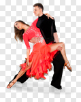 Сlipart Dancing Salsa Dancing Dancer Couple Heterosexual Couple photo cut out BillionPhotos