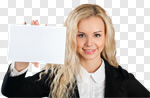 Сlipart Sign Women Holding People Business photo cut out BillionPhotos