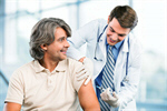 Сlipart Injecting Vaccination Flu Virus Diabetes Senior Adult   BillionPhotos