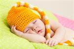 Сlipart Baby Girls Baby Newborn Sleeping Pink photo  BillionPhotos