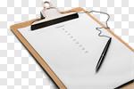 Сlipart Checklist Organization criteria Clipboard Scrutiny photo cut out BillionPhotos