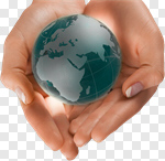 Сlipart Business Environment Human Hand Globe Energy photo cut out BillionPhotos
