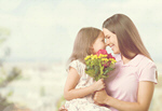 Сlipart Mother and child day mother spring concept   BillionPhotos