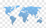 Сlipart World Map Map Earth Global Communications Spotted vector cut out BillionPhotos