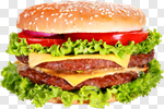 Сlipart Food Hamburger Burger Cheeseburger Sandwich photo cut out BillionPhotos