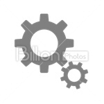 Сlipart gear cog wheel engineering cogwheel vector icon cut out BillionPhotos