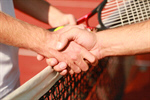 Сlipart Tennis Sport Human Hand Shaking Handshake photo  BillionPhotos