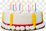 Сlipart Birthday Birthday Cake Cake Candle Anniversary photo cut out BillionPhotos