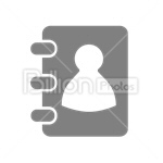 Сlipart card id media user friend vector icon cut out BillionPhotos