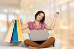Сlipart shopping customer buying laptop card   BillionPhotos