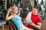 Сlipart trainer personal training clipboard woman photo  BillionPhotos
