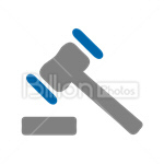 Сlipart gavel Judge Gavel auction auction salebid bidding vector icon cut out BillionPhotos