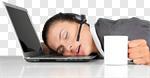 Сlipart Sleeping Tired Humor Boredom Women photo cut out BillionPhotos