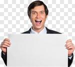 Сlipart Sale Sales Occupation Men Winning Sign photo cut out BillionPhotos