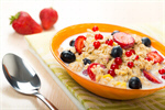 Сlipart Breakfast Oatmeal Healthy Eating Cereal Berry Fruit photo  BillionPhotos