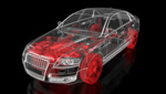 Сlipart Car Engine X-ray Image Engineering Transparent 3d  BillionPhotos