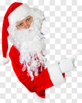 Сlipart santa claus sell white hat photo cut out BillionPhotos