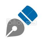 Сlipart Fountain pen fountain-pen Penholder Pen writing vector icon cut out BillionPhotos