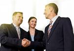 Сlipart business partners shake partnership hand   BillionPhotos