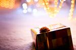 Сlipart Christmas Present Gift Snow Christmas Box photo  BillionPhotos