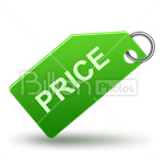 Сlipart Price Price tag Label Shopping Purchasing vector icon cut out BillionPhotos