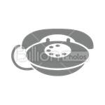 Сlipart Phone Telephone Electronics Industry Communication Technology vector icon cut out BillionPhotos