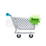 Сlipart Shopping cart Shopping Bag Add Shopping Buy vector icon cut out BillionPhotos